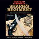 Sharpe's Regiment: Book XVII of the Sharpe Series Audiobook by Bernard Cornwell Narrated by Frederick Davidson