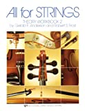 All For Strings Theory Book 2: Violin (0849732506) by Frost, Robert