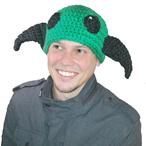 Baubles of Time Men's Green Eyed Monster Hat One Size Multicoloured