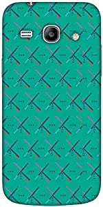 Snoogg Bluish Pattern 2758 Designer Protective Back Case Cover For Samsung Ga...