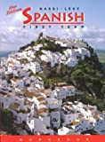 img - for Spanish: First Year (Spanish Edition) by Levy-Konesky, Nancy, Nassi, Robert J.(January 1, 1996) Paperback book / textbook / text book