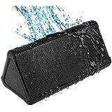 Cambridge SoundWorks OontZ Angle PLUS Portable Wireless Bluetooth Speaker - PLUS Adds Water Resistance More Bass Increased Volume Longer Battery Life [Outdoor Beach Rain Shower Speaker] BLACK