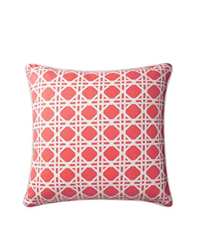 Company C Rattan Pillow, Watermelon