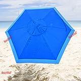 7 foot Deluxe Beach / Patio Umbrella UPF100 - Market Style