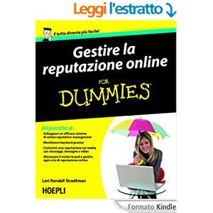 Gestire la reputazione online For Dummies (Hoepli for Dummies)