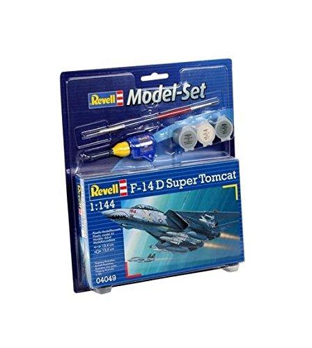 Revell-Modellbausatz-64049-Model-Set-F-14D-Super-Tomcat-im-Mastab-1144