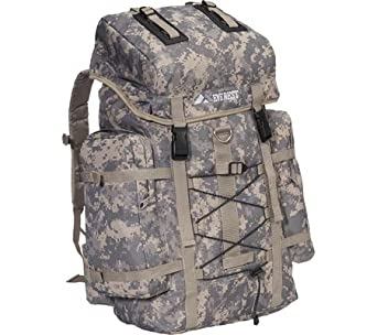 Digital Camo ACU DC8045D Camouflage Hiking Hunting Luggage Travel Bag Everest