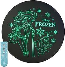 アナと雪の女王  LEDシーリングライト ~6畳 昼光色 光拡散レンズ搭載 調光(3段階) 明るさメモリ 可愛いリモコン付き WY-FG06DFZ
