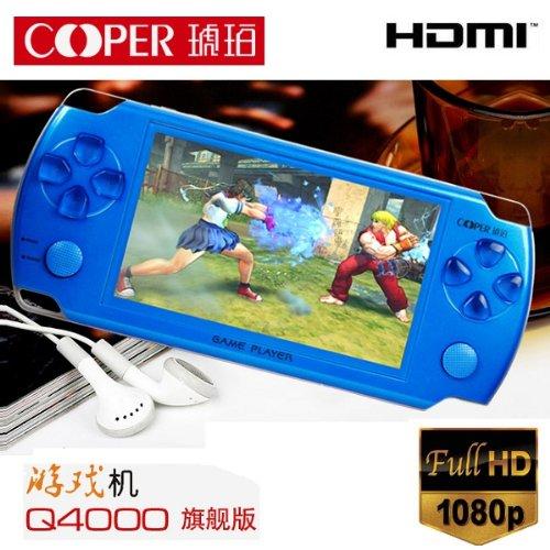 COOPER Q4000 4GB / 3D ポータブルゲームプレーヤー ブラック