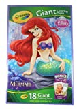 Disney Princess Giant Coloring 18 Pages - The Little Mermaid by Crayola LLC