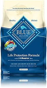 Blue Buffalo BLUE Senior Dog Chicken & Brown Rice  6 lb