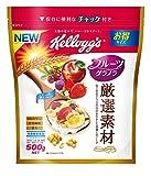 ケロッグ 厳選素材 フルーツグラノラ 徳用袋 500g×5袋