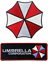 Resident Evil Umbrella Corporation Embroidered [2 Patches]