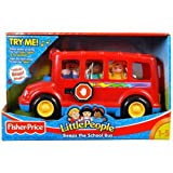 Fisher Price Little People Beeps The School Bus Toy 1 - 5 Years