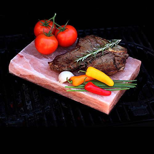 The Spice Lab Himalayan Salt Cooking Plate / Tile or Slab - 12 x 8 x 2