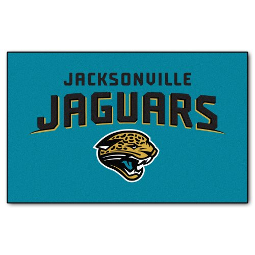 FANMATS NFL Jacksonville Jaguars Nylon Face Ultimat Rug