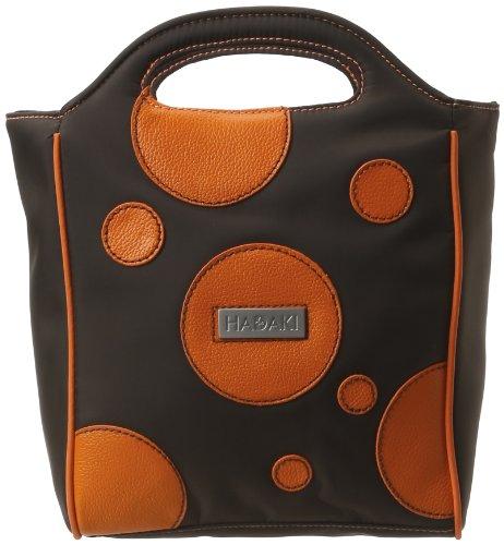 Hadaki Insulated Pod Lunch Tote,Bubbles Orange,one size