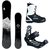 System MTN and APX Complete Men's Snowboard Package 2015 by System