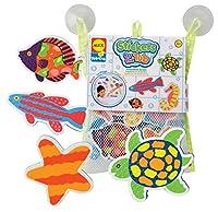ALEX Toys Rub a Dub Stickers for the Tub, Beach Buddies from ALEX Toys
