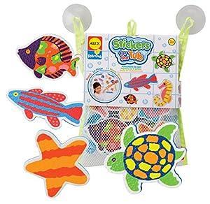ALEX Toys - Pegatinas para el baño con tema de la playa (633W) - BebeHogar.com