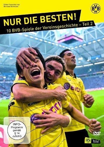 BVB - Nur die Besten! 10 BVB-Spiele der Vereinsgeschichte, Teil 2 [5 DVDs] [Edizione: Germania]