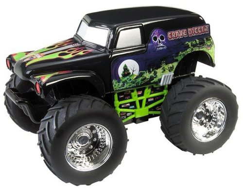 Hot Wheels Monster Jam RC-Grave Digger - J6973