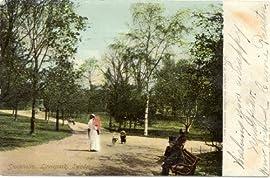 1907 Vintage Postcard Linnepark - Stockholm Sweden
