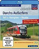 Image de Durchs Außerfern Teil 1 - Kempten - Reutte [Blu-ray] [Import allemand]