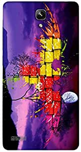 Timpax protective Armor Hard Bumper Back Case Cover. Multicolor printed on 3 Dimensional case with latest & finest graphic design art. Compatible with Xiaomi Red Mi Note Design No : TDZ-26868