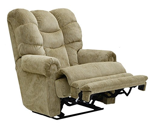 CATNAPPER 642577177025 Malone Basil Lay Flat Power Recliner