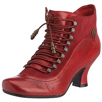 Hush Puppies Boots Vivianna Red UK7 Red