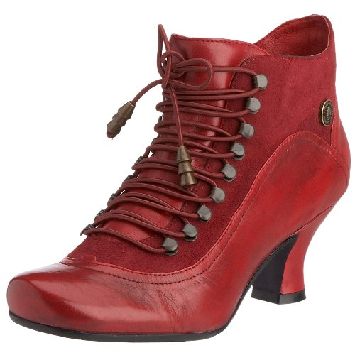 Hush Puppies Women's Vivianna Boot Red H2482307L 9 UK