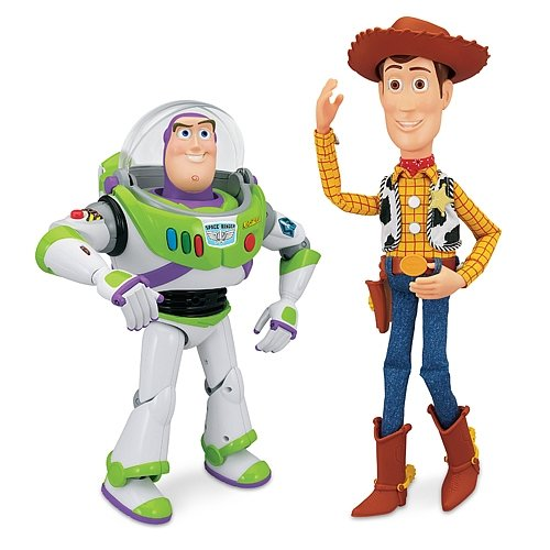 Group Of Sheriff Woody And Buzz