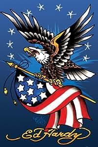 Amazon.com: Ed Hardy American Eagle Poster Art Print