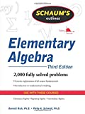 img - for Schaum's Outline of Elementary Algebra, 3ed (Schaum's Outlines) book / textbook / text book