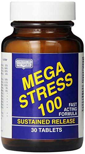Only Natural Mega Stress 100, 30-Tablets