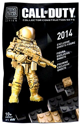 2014 Mega Bloks Call of Duty Exclusive Ghosts Mini Figure