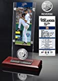 Justin Verlander Detroit Tigers Ticket and Minted Coin Desk Top Acrylic at Amazon.com