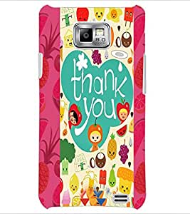 PrintDhaba Quote D-4982 Back Case Cover for SAMSUNG GALAXY S2 (Multi-Coloured)