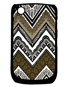 Pickpattern Back cover for Blackberry Curve 8520