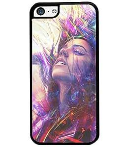Fuson Dance Girl Back Case Cover for APPLE IPHONE 5C - D3753