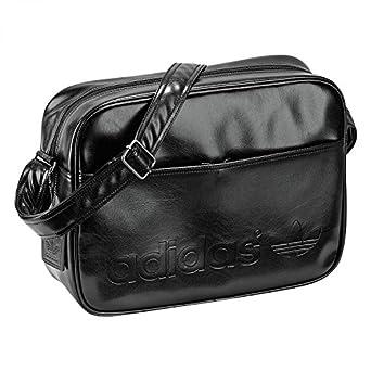 adidas Airliner Vintage Z37755 Shoulder Bag Black / Earth Brown S13 / 37 x 13 x 27 cm 17 Litres