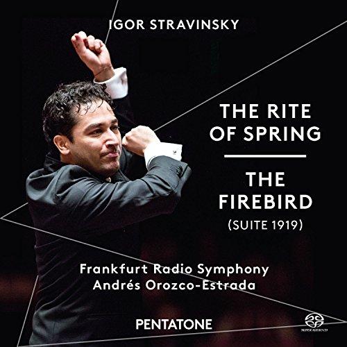 ストラヴィンスキー : バレエ音楽 「春の祭典」 | 「火の鳥」 (1919年版) (Igor Stravinsky : The Rite of Spring | The Firebird (Suite 1919) / Frankfurt Radio Symphony | Andres Orozco-Estrada) [SACD Hybrid] [輸入盤] [日本語帯・解説付]