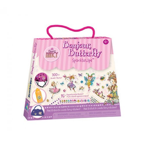 The Orb Factory Fancy Nancy Bonjour Butterfly SparkleUps