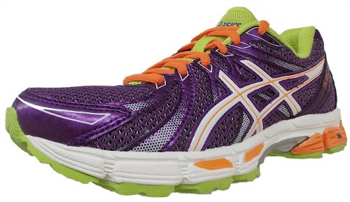 ASICS Women's GEL-Exalt Running Shoe,Plum/White/Flash Orange,10 M US