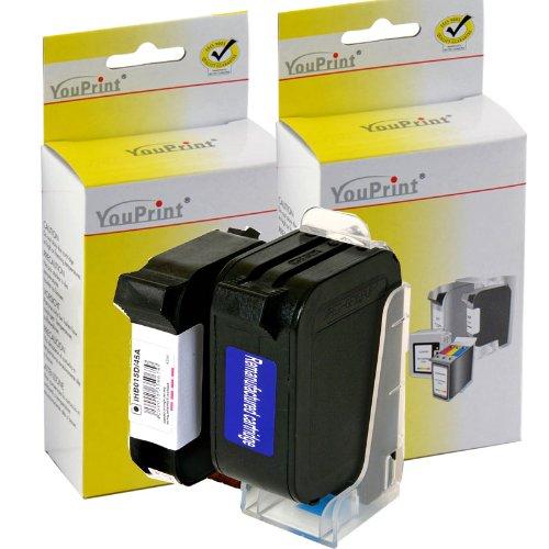 HP Druckerpatronen Refill c8727a c8728a HP Nr. 27 + 28 Youprint