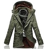 YFFUSHI ダウンジャケット メンズ 綿 厚手 秋冬 新着 上品 高品質 大きいサイズ 全6色 フード付き カジュアル M-5XL ダウン 防寒防風 暖かい ファッション きれいめ