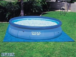 intex tapis de sol piscine intex jardin. Black Bedroom Furniture Sets. Home Design Ideas