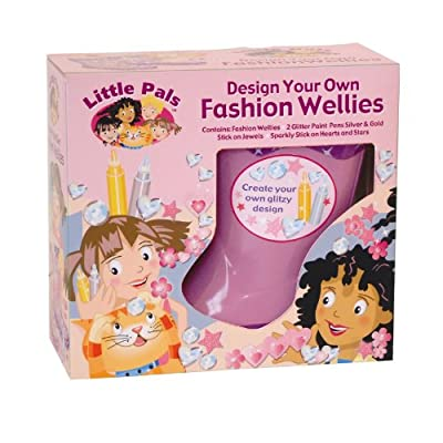 Little Pals Fashion Wellies Lilac