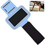 OFTEN Adjustable Armband For Samsung Galaxy S3 S4 S5 i9300 i9500 i9600 Gym Running Sports Case Cover Holder Jogging (Light Blue)